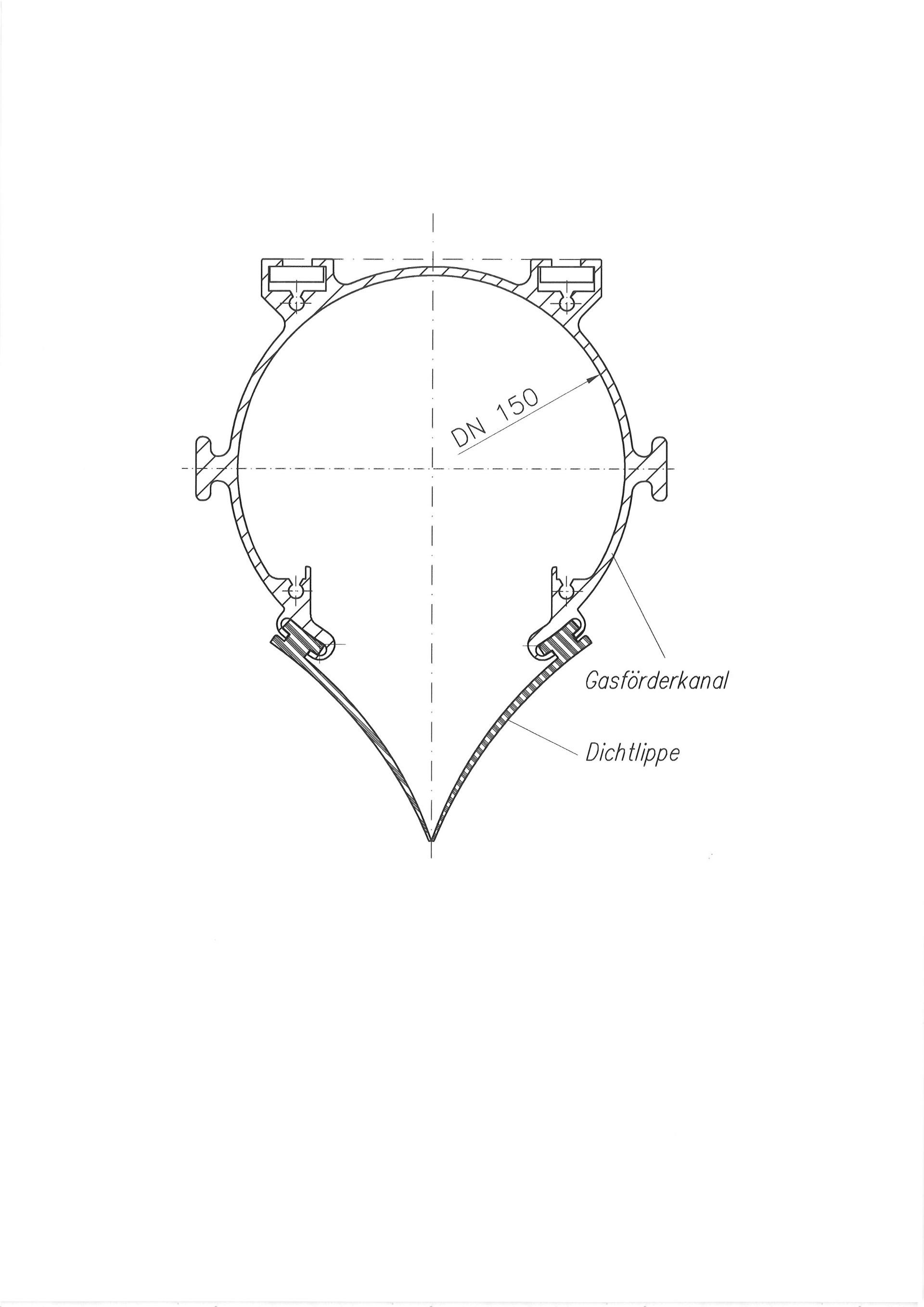 Gasförderkanal | Ludscheidt GmbH